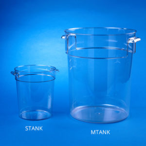 Clear Rodent Enclosures