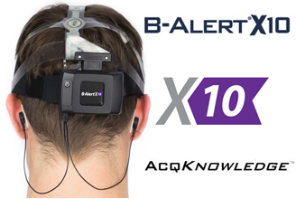 B-Alert X10 & AcqKnowledge