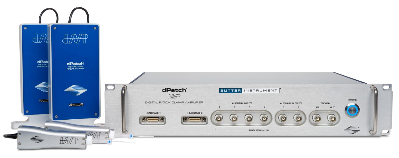dPatch® Low-Noise Ultra-Fast Digital Patch Clamp Amplifier System