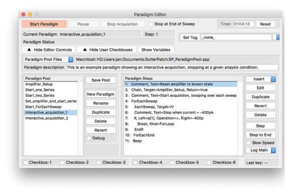 Paradigm Editor